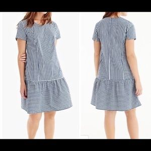 J. Crew Universal Standard Poplin Drop Waist Dress